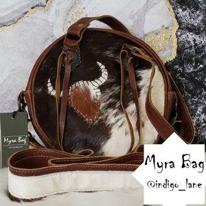 "Myra ""Concept"" Leather & Hair-on Shoulder Bag"